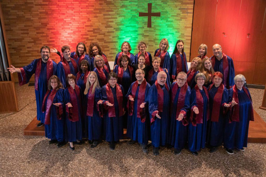 Gospelchor Gospical der evangelischen Lukasgemeinde Wiesbaden
