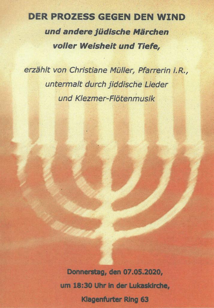 Flyer Jüdische Märchen